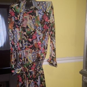 Beautiful and authentic silk robe.